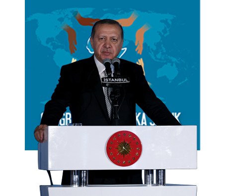 "President Erdoğan Attends the Gala Dinner of the ""Health in Africa"" Congress"