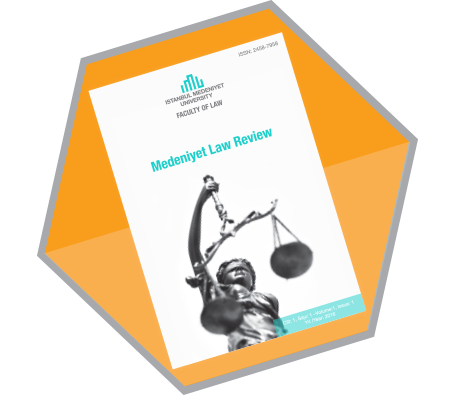 1st Issue of Medeniyet Law Review is Out!