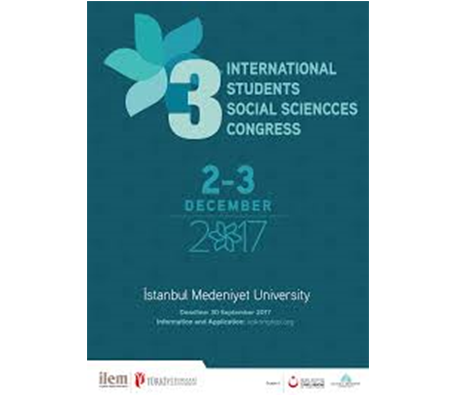 3rd International Students Social Sciences Congress